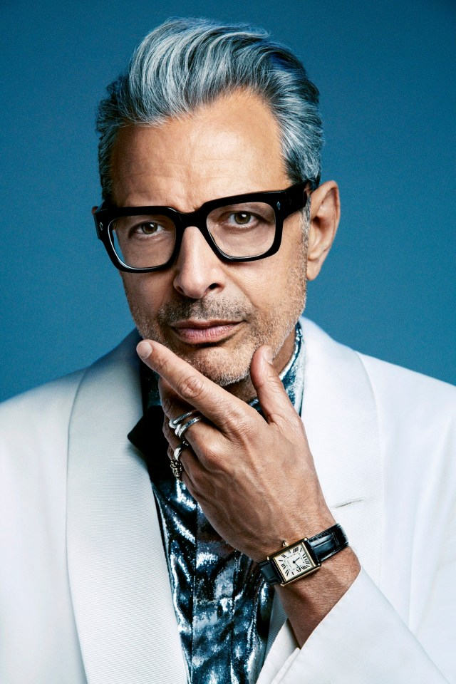 Jeff Goldblum says his secret anti-ageing weapon is his five-year-old son Charlie