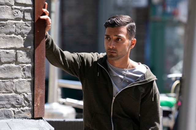 Shiv has transformed Vinny's look for the new episodes of EastEnders