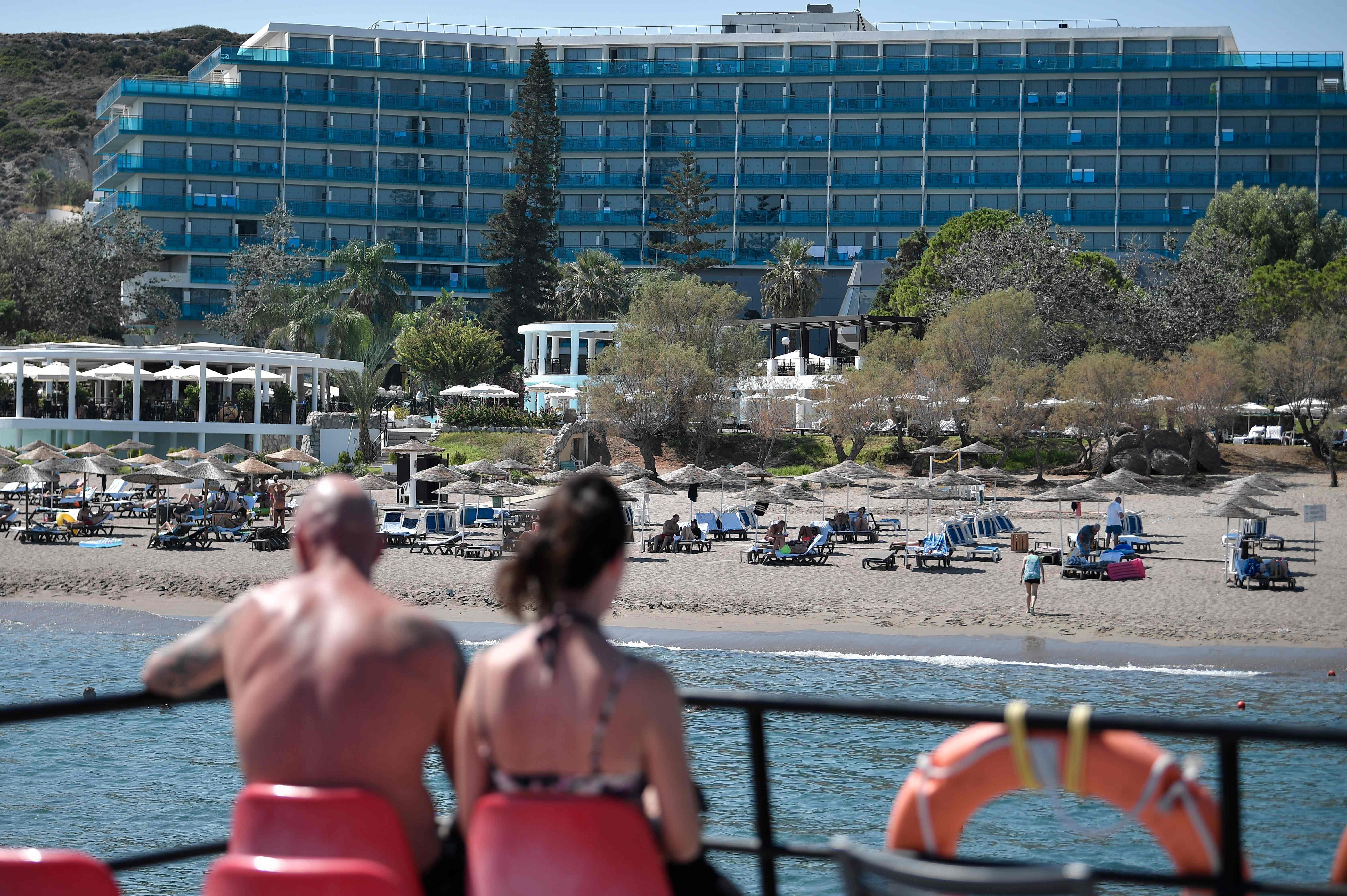 Just two Greek islands remain on England's quarantine list