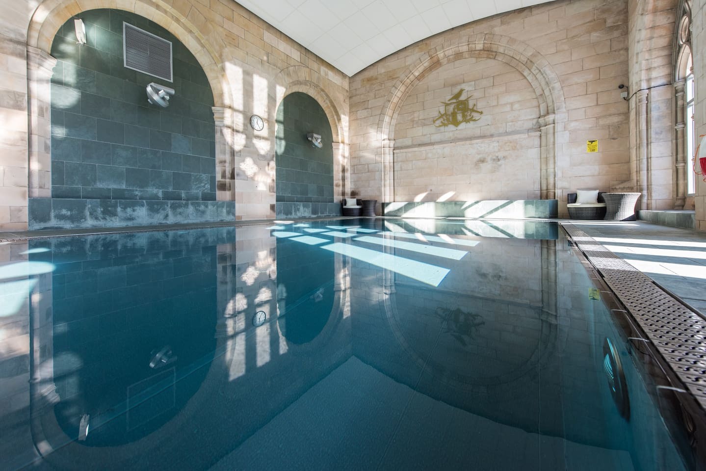 Also in the abbey is an indoor heated pool which guests can use