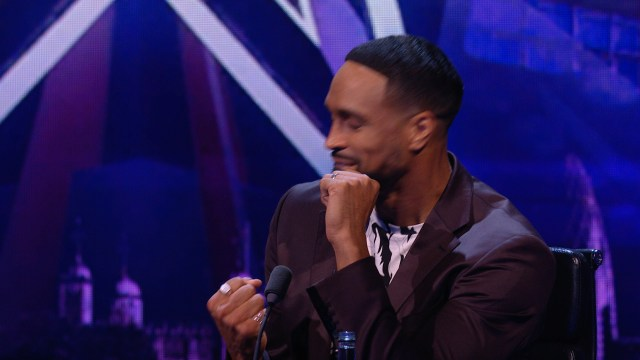 Ashley Banjo is a stand-in judge for Simon Cowell