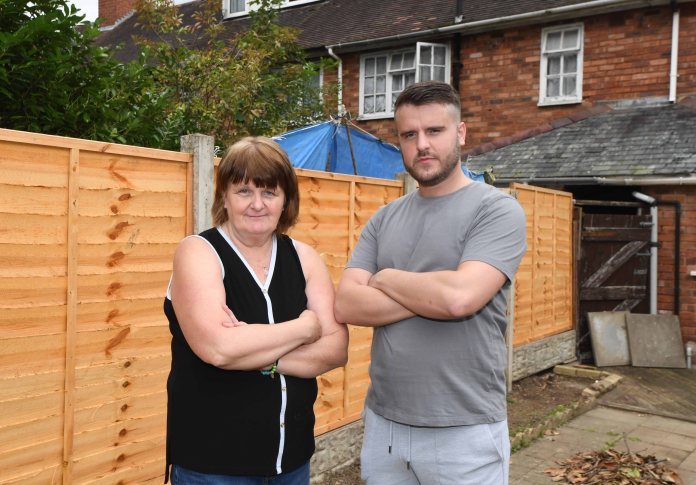 Linda and James considered moving on to the issues next door