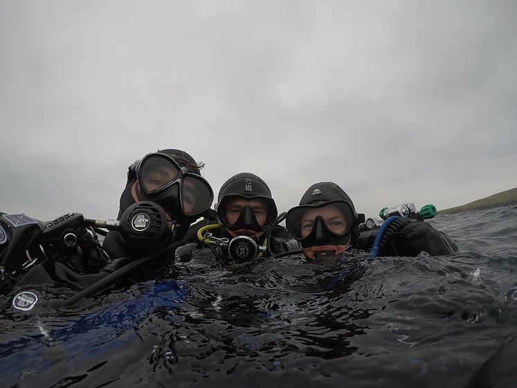 Learn how to dive and explore marine life off the coast of Orkney