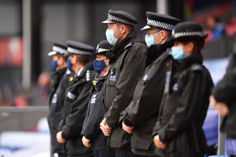 Cops observe a minute's silence in memory of Sgt Matt Ratana