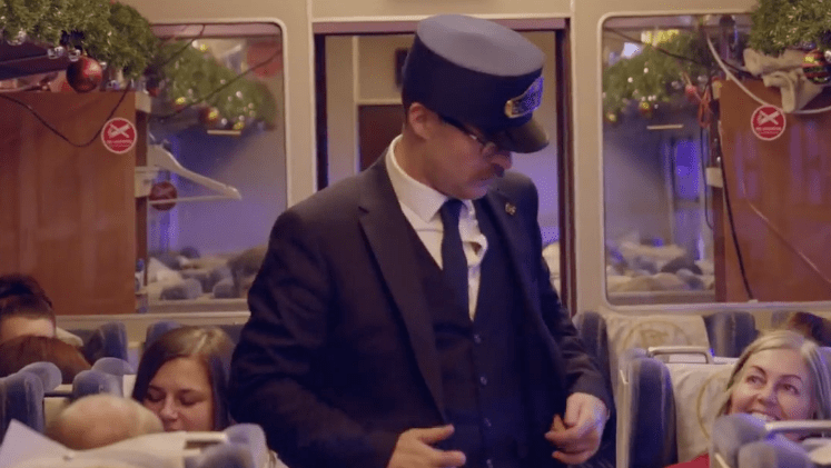 The Polar Express conductor is one for fans of the 2004 film