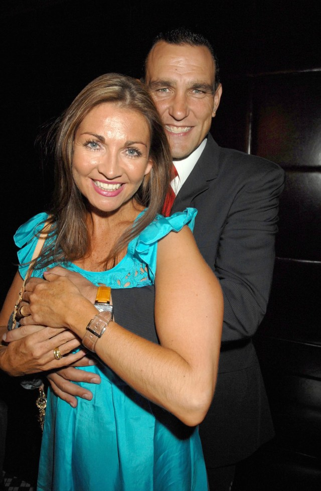 Vinnie admitted he has struggled since his wife Tanya died last year from cancer