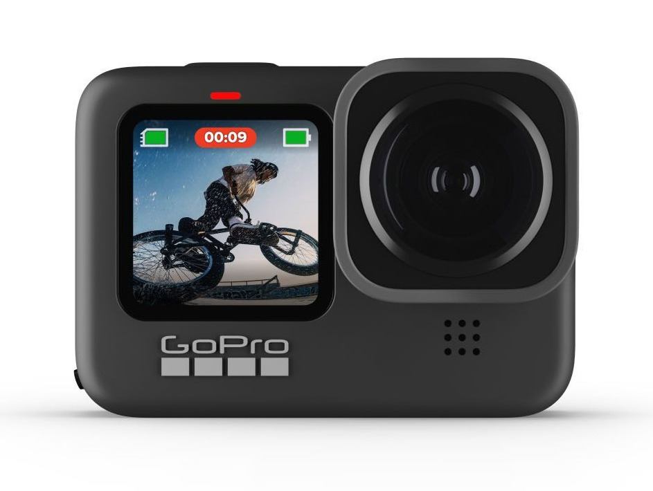 The GoPro Hero9 is familiar in shape to the Hero8