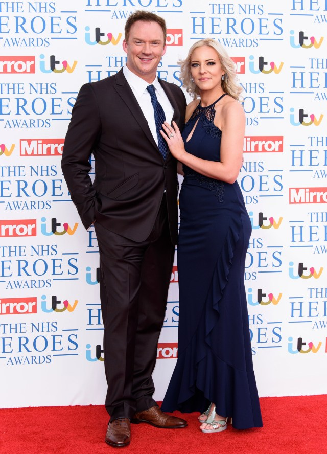 Russell sings the praises of wife Louise, who trusts him when he is away from home