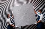 This confusing picture of black and white wavy lines could fetch a whopping £7.5million at auction