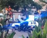 Paris attack: Gunman wearing bomb vest 'beheads teacher outside school' before being shot dead by cops