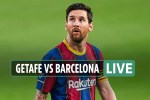 Getafe vs Barcelona LIVE: Stream, TV channel, team news and kick-off time for TONIGHT'S La Liga match