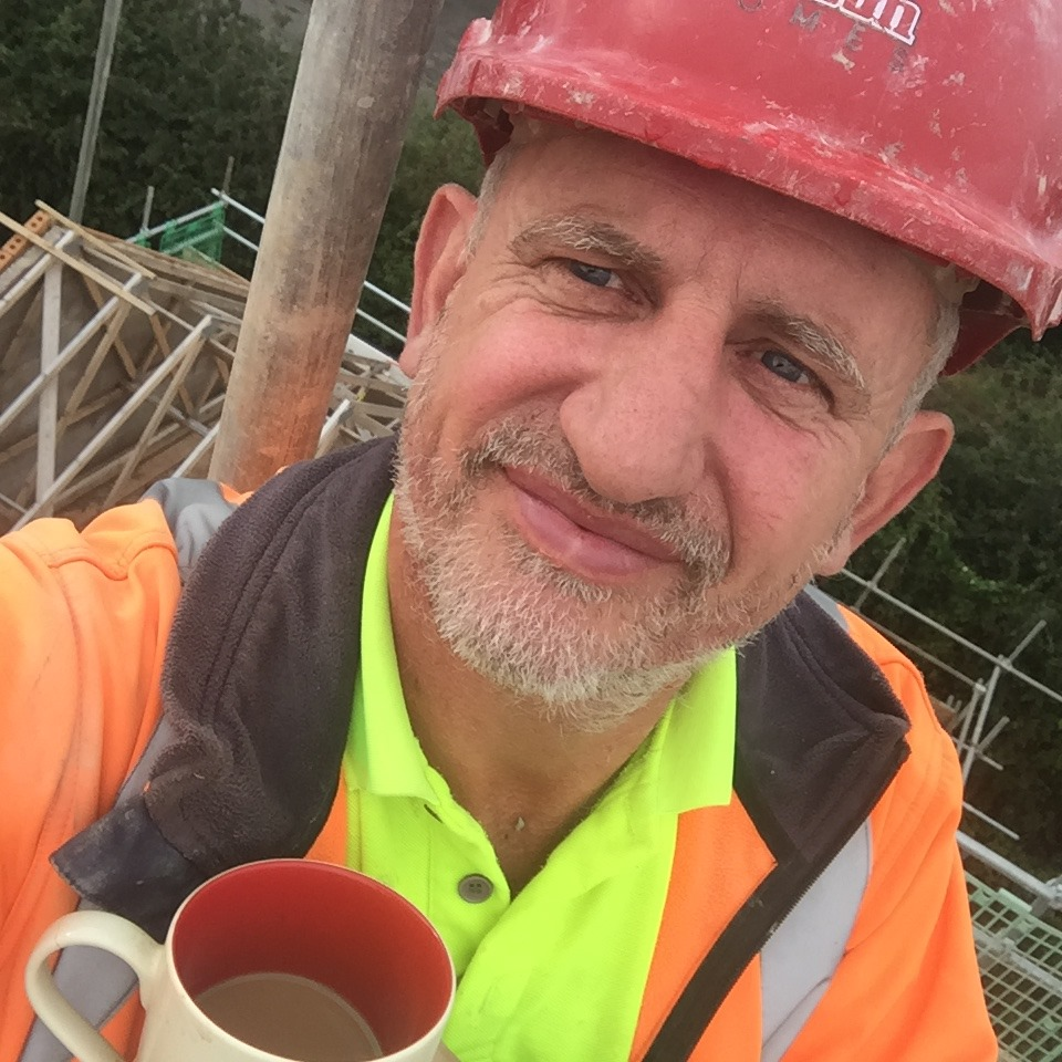The self-employed house builder worked long hours to get on the property ladder