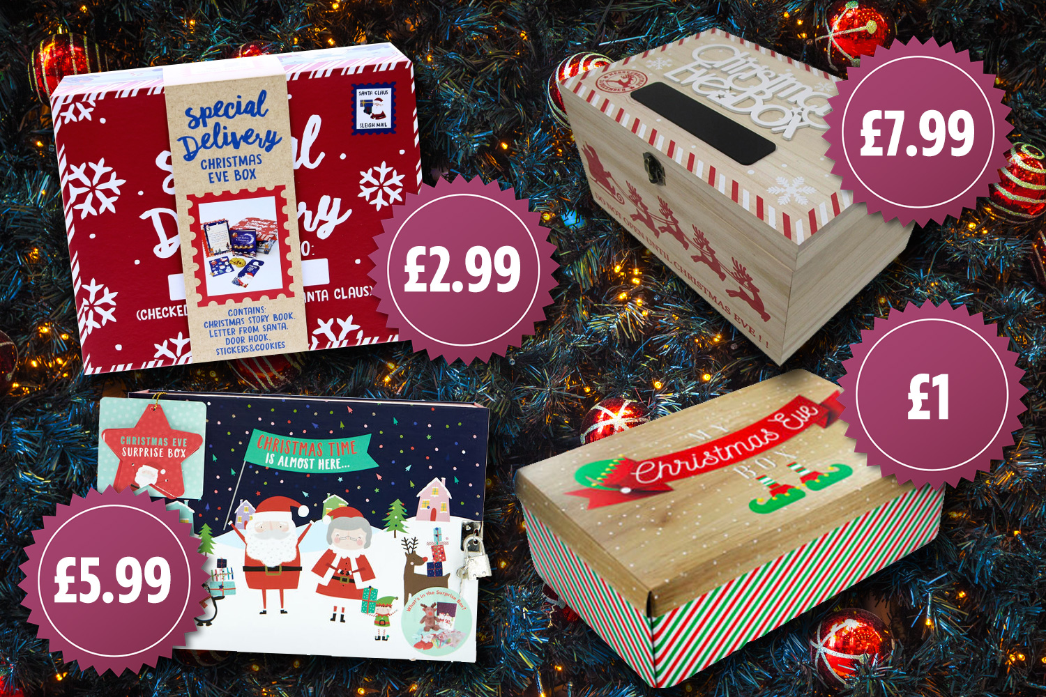 Here are our top picks for the best Christmas eve boxes