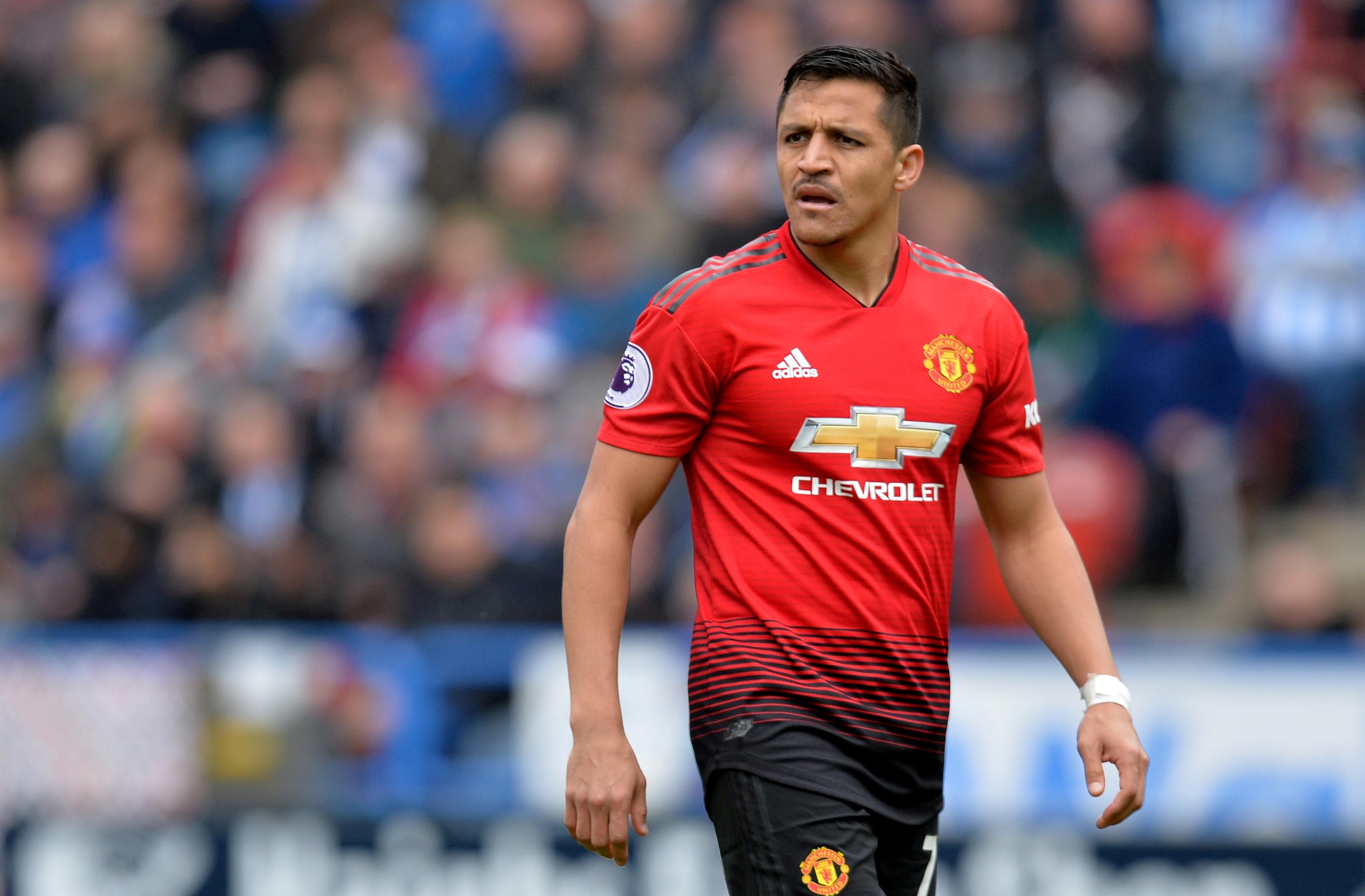 Alexis Sanchez เข้าร่วม United หลังจากใช้เวลาสี่ปีกับ Arsenal