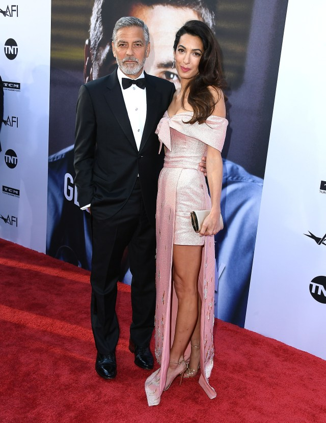 The 59-year-old with human rights lawyer wife Amal Alamuddin