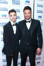 Peter Andre reveals son Junior is terrified of him making 'uncool music' and has banned him from rapping