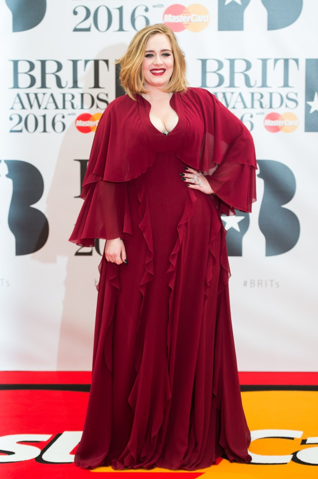 Adele has lost seven stone this year