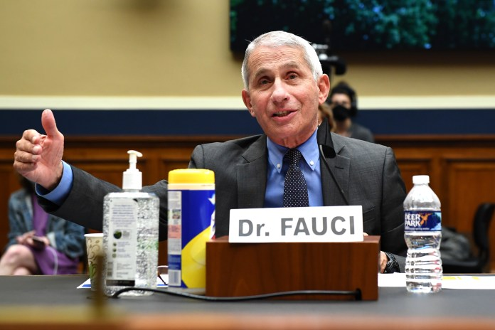 Dr Anthony Fauci says 'we'll know if a vaccine is safe and effective by the end of November'