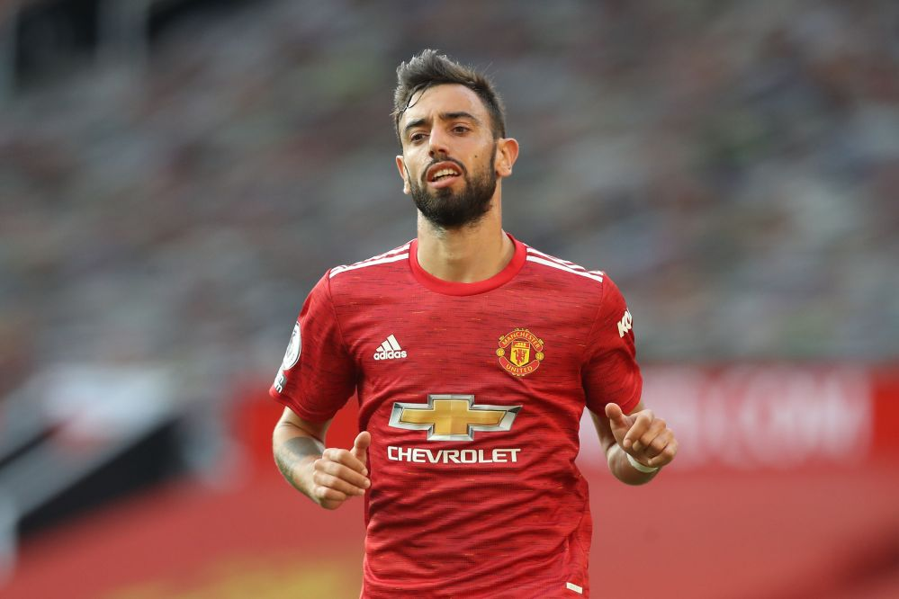 Fernandes is being chased by Barcelona and Real Madrid after rumours of a row at United