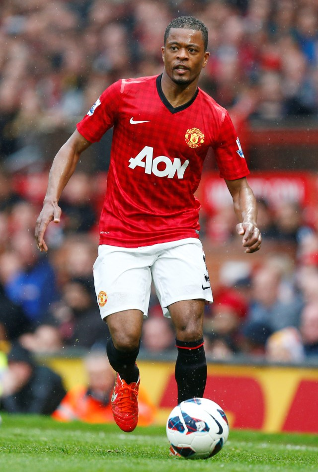 Patrice Evra fathered two children with a doctor he met in Las Vegas several years ago