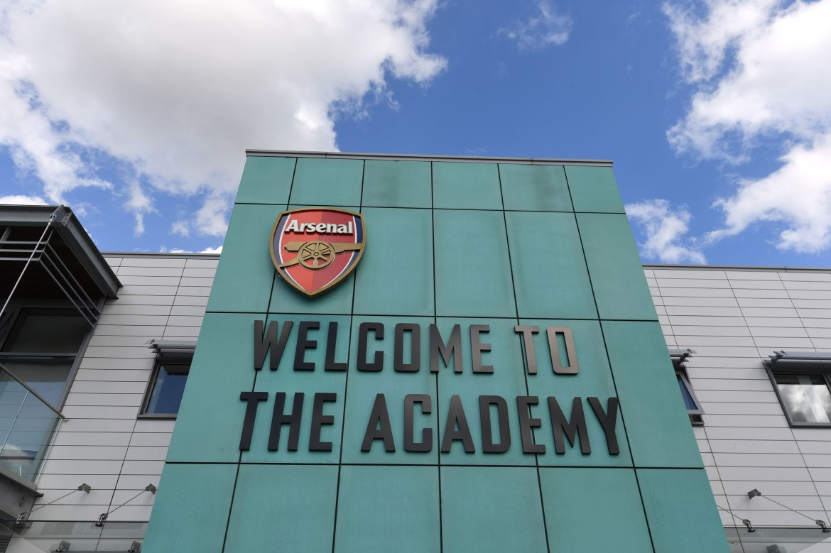 Arsenal were forced to close their Hale End academy after a positive coronavirus test result on Wednesday