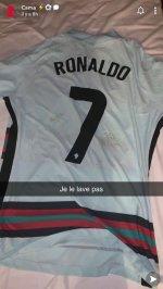 Eduardo Camavinga lands Cristiano Ronaldo's shirt and vows 'I won't wash it' after France vs Portugal