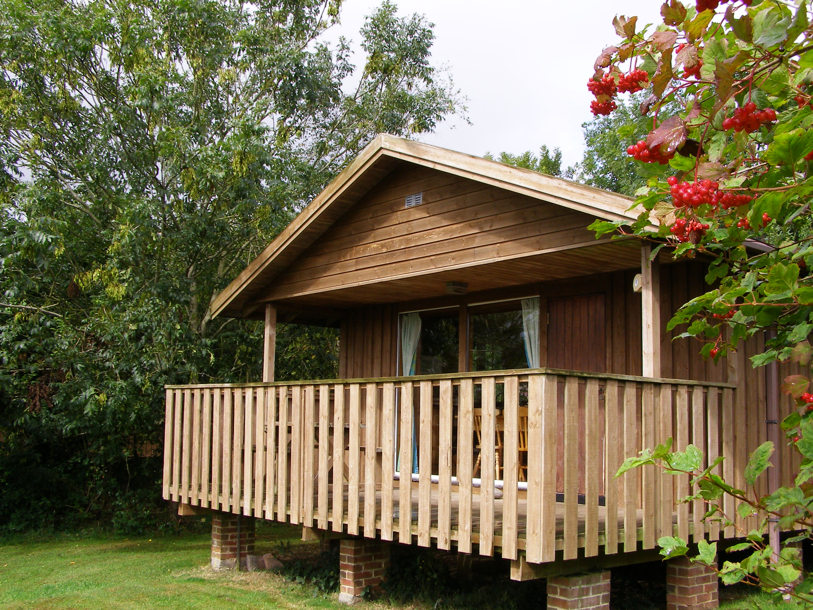 There are four eco-lodges in the Unesco Biosphere Reserve in North Devon with everything you could want for a snug stay