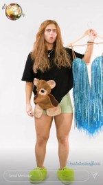 EastEnders' Maisie Smith swaps her teddy PJs for a glam ballgown as Strictly Come Dancing reveals cast's makeovers