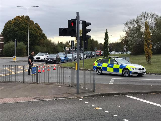 The collision occurred outside the Blaina Wharf public house on the westbound carriageway just before 2pm on Friday