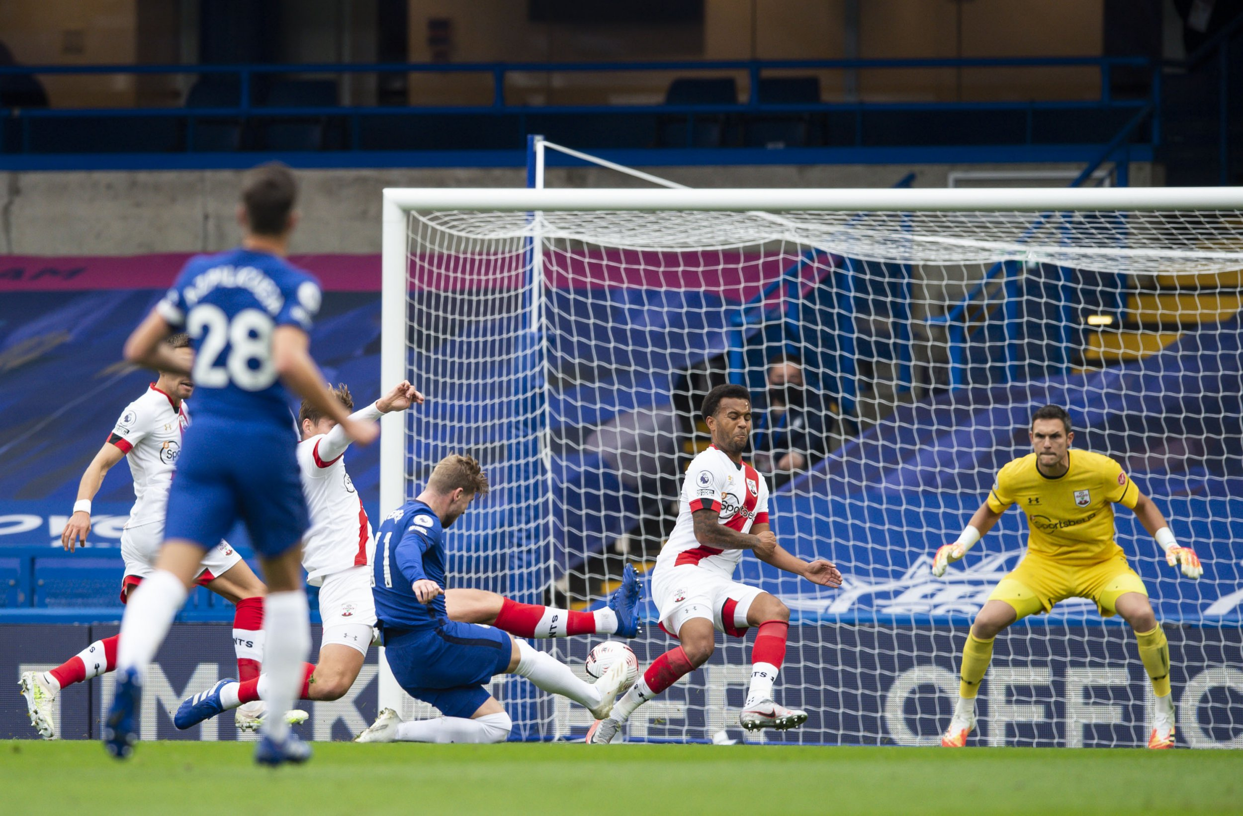 Chelsea 3 Southampton 3: Kepa howler and injury-time goal see Blues throw away two-goal lead