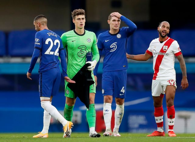 Kepa proved himself once again unreliable in goal for Chelsea