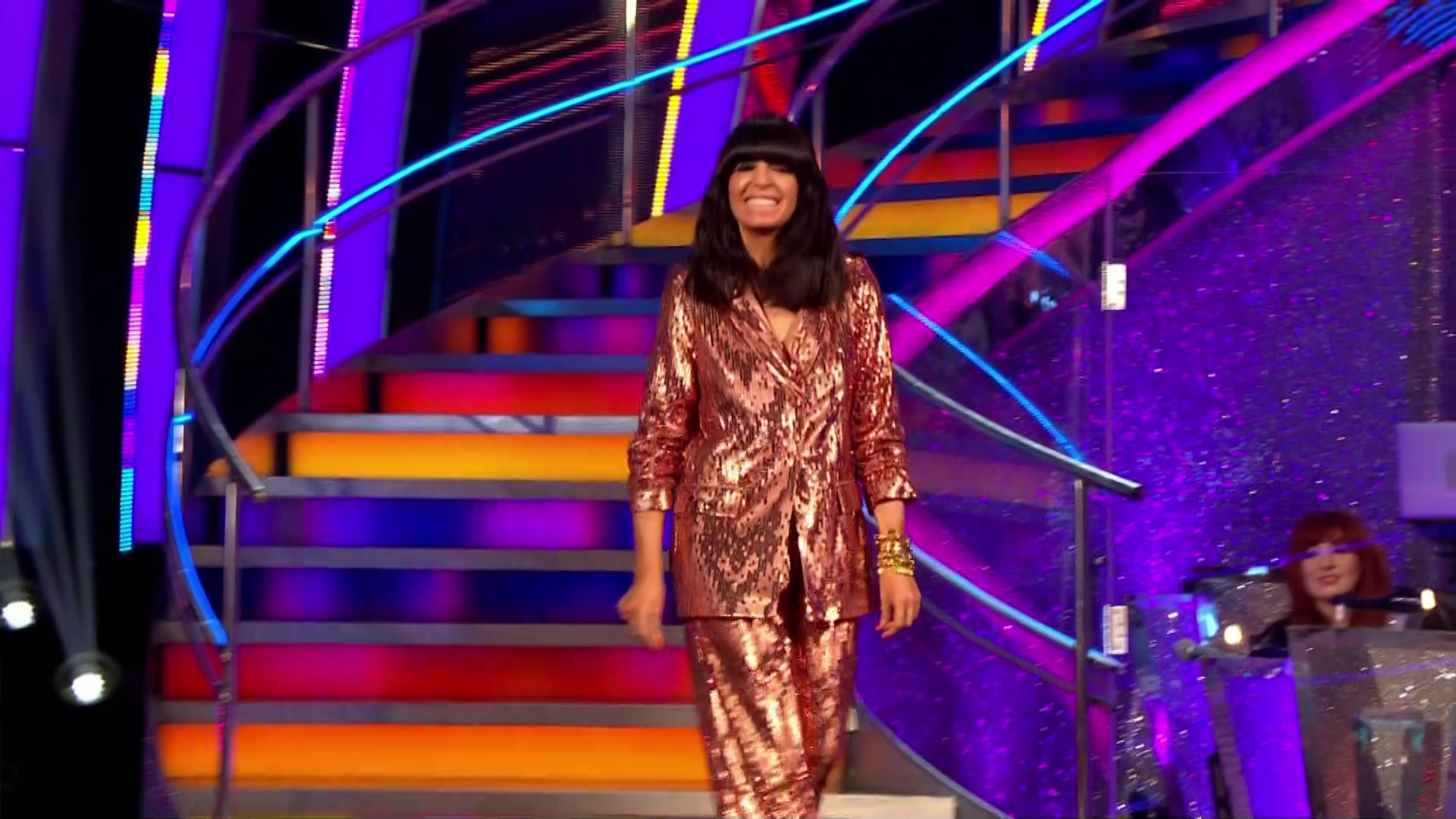 Strictly Come Dancing viewers baffled by Claudia Winkelman's sparkly 'pyjamas' outfit
