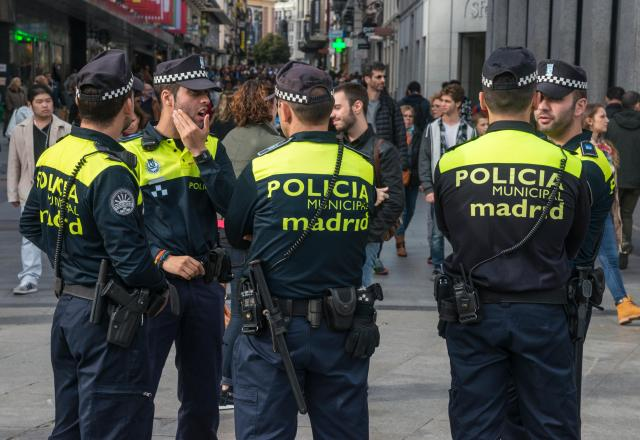 Spanish police broke up the orgy which took place during a mini-lockdown in Madrid