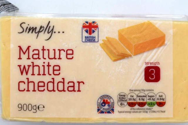 Lidl has recalled this block of cheddar cheese with a best before date of December 26, 2020 over it concerns it may contain bits of plastic