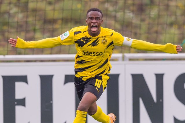 The Cameroon-born German star is one of European football's hottest properties