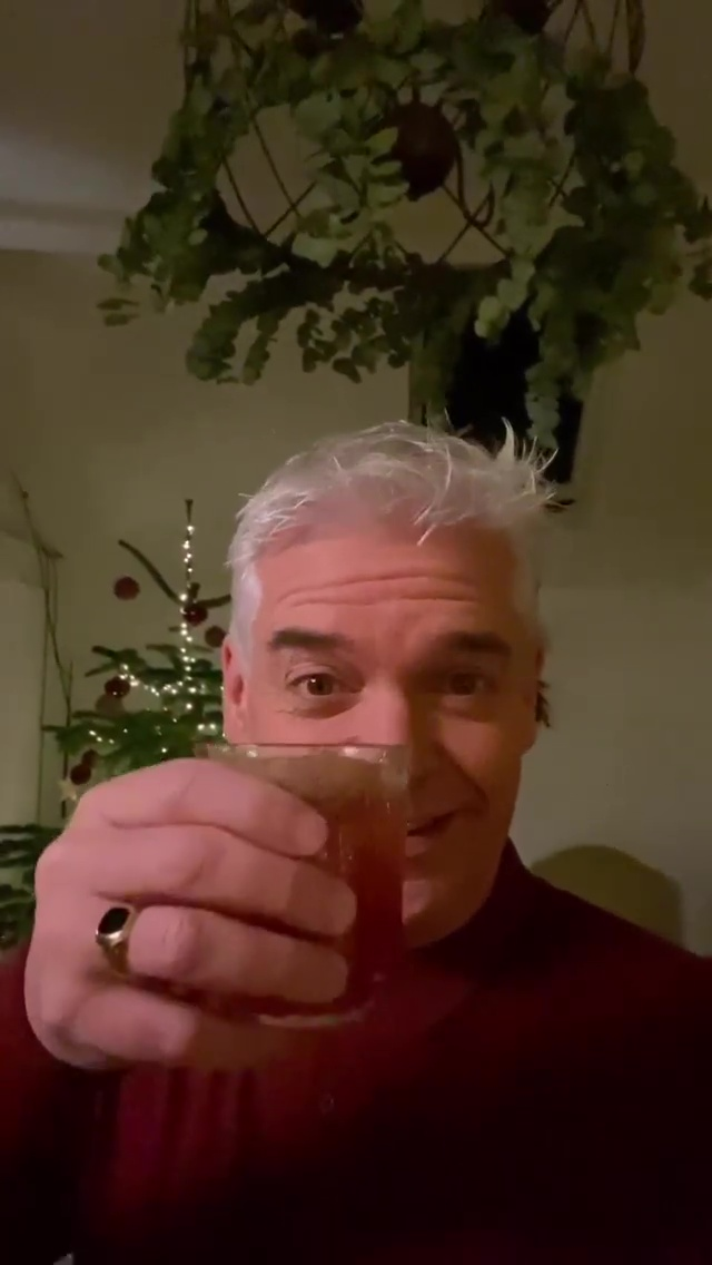 Phillip Schofield, 58, let fans in behind the scenes of How To Spend It Well at Christmas