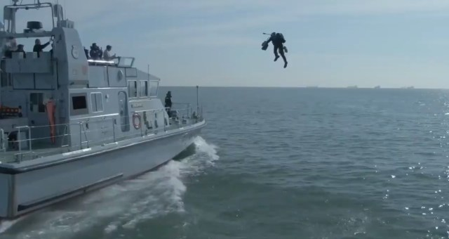 The U.S. Naval Institute said U.S. Special Operations Command is 'also evaluating a jet pack that can reach speeds of more than 200mph'