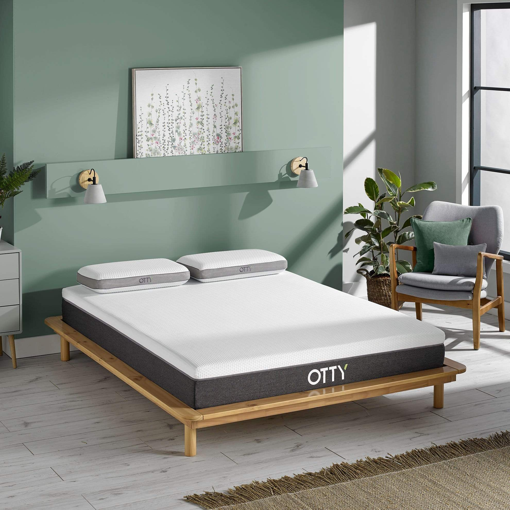 OTTY's Aura Hybrid Mattress is the perfect combination of spring and foam