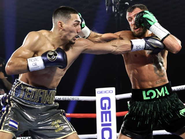 Teofimo Lopez dominated Vasiliy Lomachenko from the first bell
