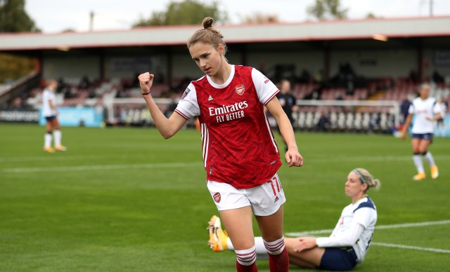 Vivianne Miedema broke the all-time goal scoring record with 52 goals in 50 appearances