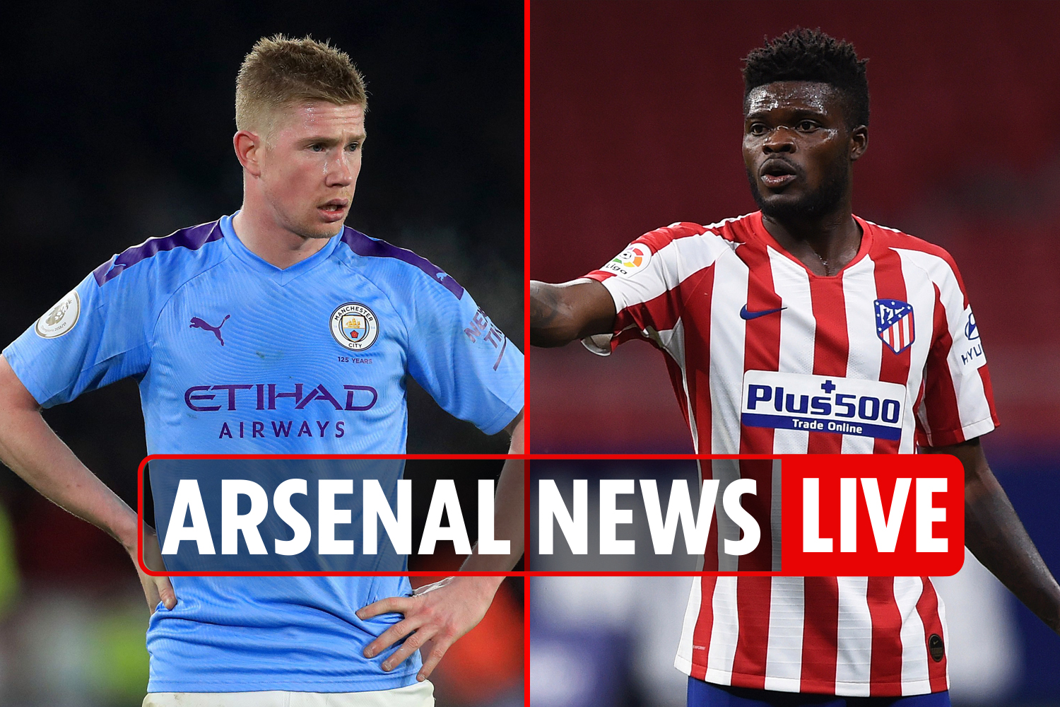 12pm Arsenal news LIVE: Partey preparing for debut, De Bruyne OUT vs City, Tierney UPDATE, Saliba transfer