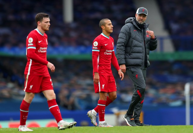 Thiago told Klopp he was injured after the game