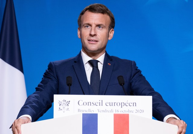 It's time for President Emmanuel Macron to swallow his pride and back down over his demands on fishing