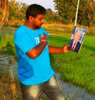 Bussa Krishna had hoped Trump will be re-elected On November 3