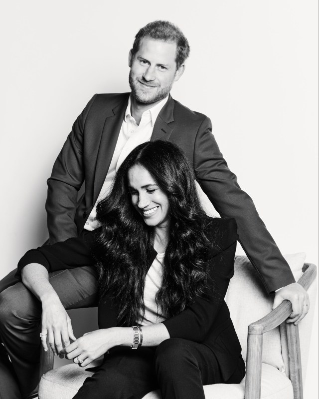 Prince Harry and Meghan Markle will co-host the Time100 talks on Tuesday