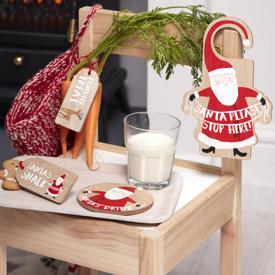 Or set up this Christmas Eve scene with Not On The High Street