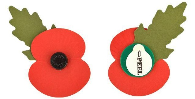 Sainsbury's is selling this paper poppy online for £1