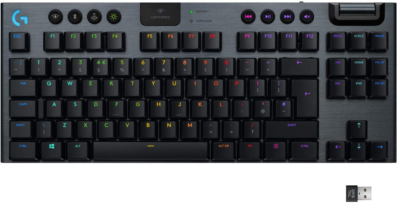 An epic keyboard tailor-made for PC gamers