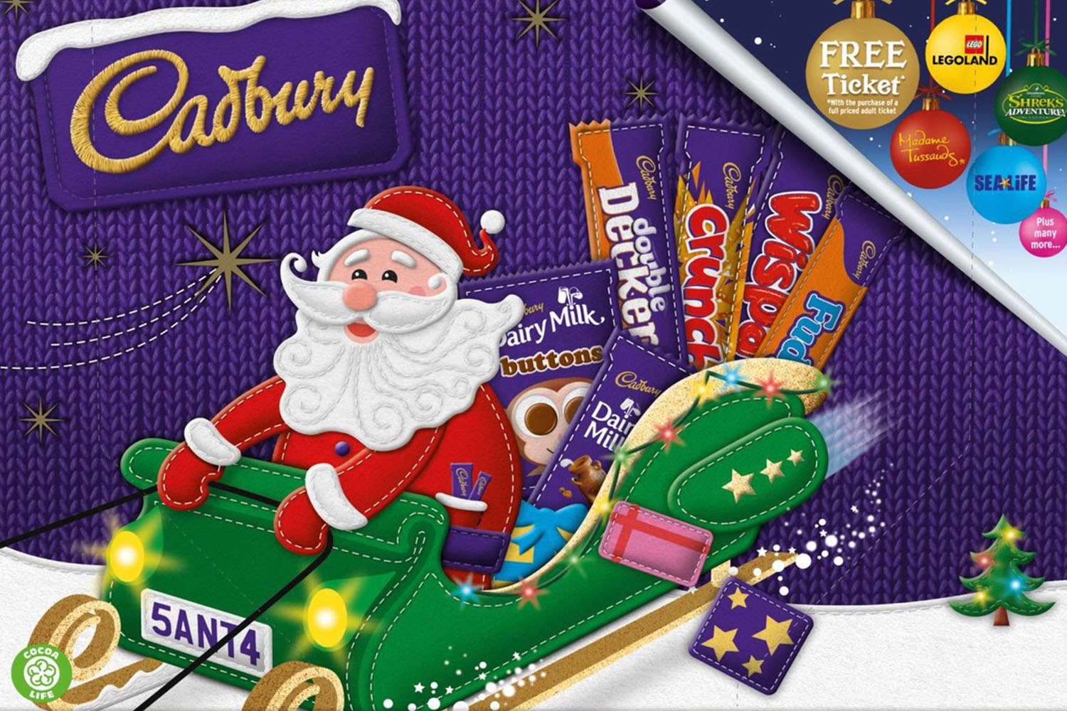 Morrisons and Tesco have slashed the price of the medium selection boxes in half