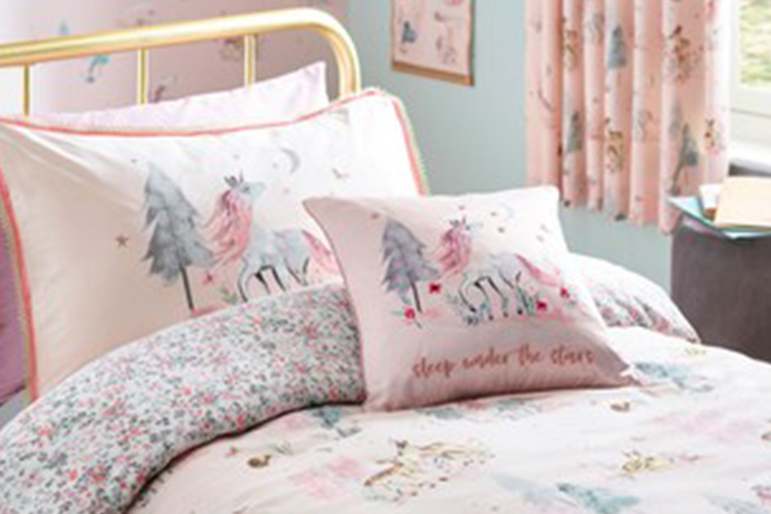 "Next issued and alert for the ""Magical Woodland Duvet Cover & Pillowcase Sets"""